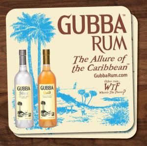 Gubba Rum Bar Coasters