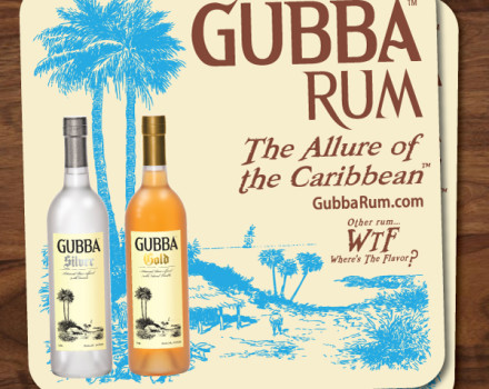 New Gubba Rum bar coasters are arriving soon!