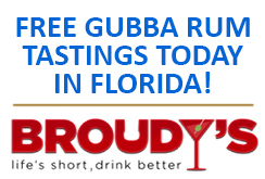 Gubba Rum Tastings in Florida TODAY!